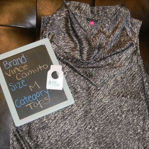 Vince Camuto sleevless cowlneck top